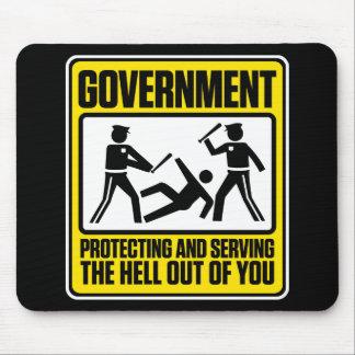 政府の警告のマウスパッド マウスパッド