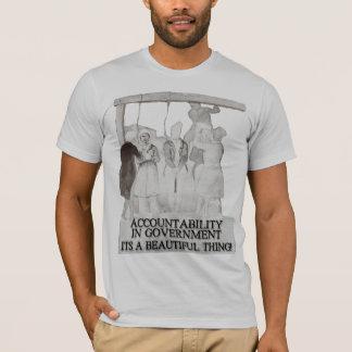 政府の責任能力それは美しい事です Tシャツ
