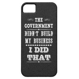 政府は私がそれをした私のビジネスを造りませんでした iPhone SE/5/5s ケース