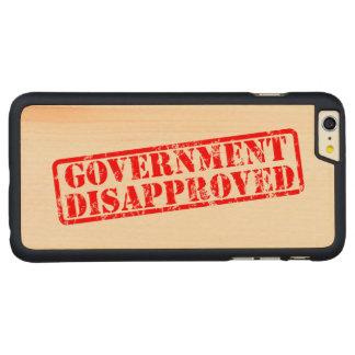 政府は非難しました CarvedメープルiPhone 6 PLUS スリムケース
