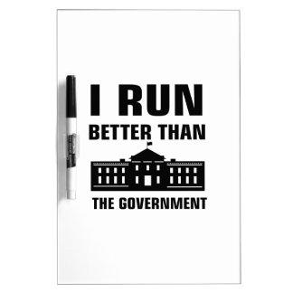 政府よりよい操業 ホワイトボード