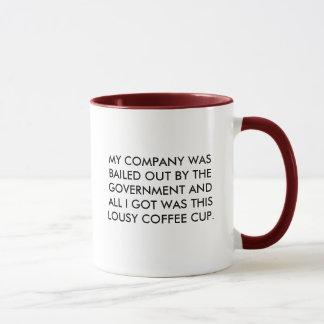 政府脱出のコップ マグカップ