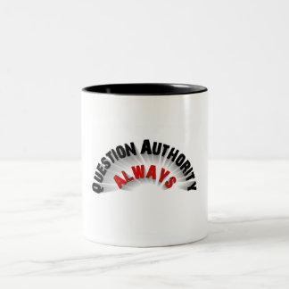 政府 ツートーンマグカップ