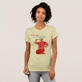政治になろう! Tシャツ