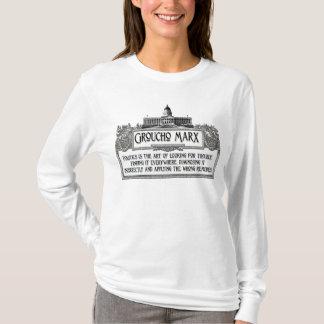 政治のGrouchoマルクス Tシャツ