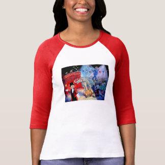 政治サーカス2016の女性のTシャツの赤 Tシャツ