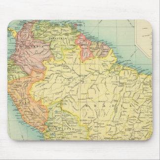 政治南アメリカ マウスパッド