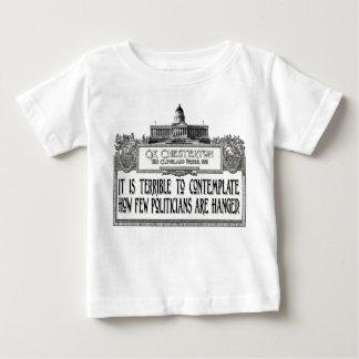政治家のつるすことのChesterton ベビーTシャツ