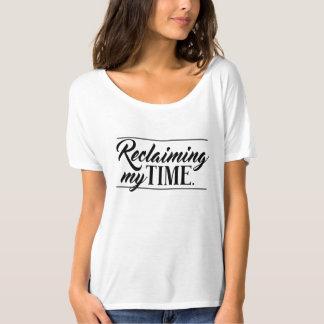 """""""政治私の時間""""を開拓します Tシャツ"""