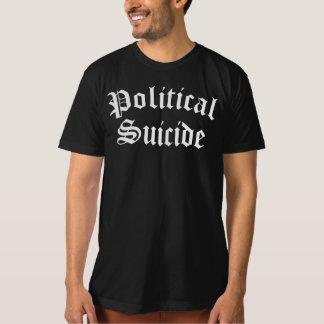 政治自殺のTシャツ Tシャツ