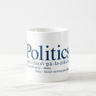 政治 コーヒーマグカップ