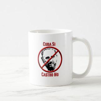 政治- Intl -キューバSi、Castro コーヒーマグカップ