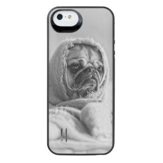 故国のパグ iPhone SE/5/5sバッテリーケース
