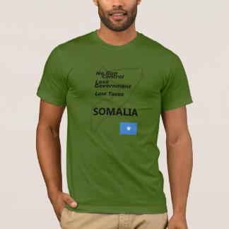 故国: ソマリア Tシャツ