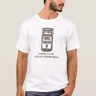 故郷の缶詰になる瓶 Tシャツ
