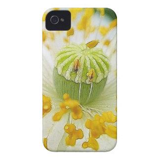 敏感で白いケシ Case-Mate iPhone 4 ケース