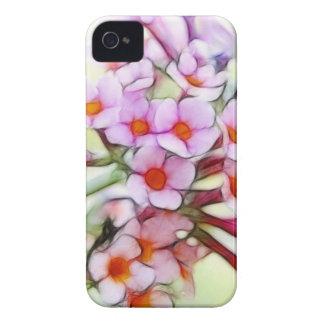 敏感で、夢みるような蝶ブッシュ- Case-Mate iPhone 4 ケース
