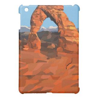 敏感なアーチの絵画 iPad MINIカバー