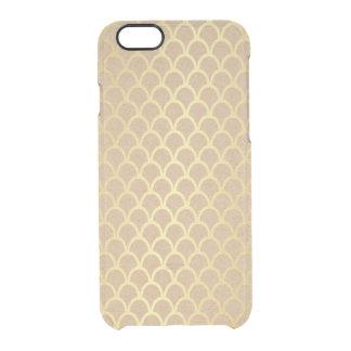 敏感なエコのカートの金波のiPhone Clearly™ クリアiPhone 6/6Sケース