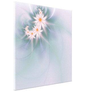 敏感なフラクタルの花 キャンバスプリント
