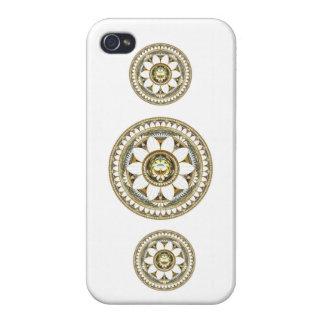 敏感なユリの花 iPhone 4/4S カバー