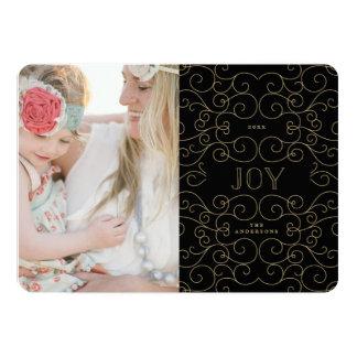 敏感な喜び|の休日の写真カード カード