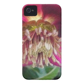敏感な春のヘレボルスの花のインテリア Case-Mate iPhone 4 ケース