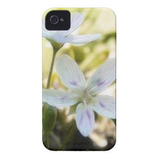 敏感な春美しいの花 Case-Mate iPhone 4 ケース