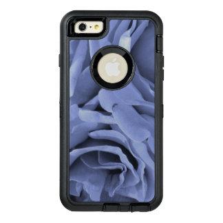 敏感な淡いブルーの灰色のバラの花の写真 オッターボックスディフェンダーiPhoneケース