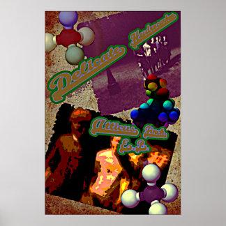 敏感な炭化水素ポスター ポスター