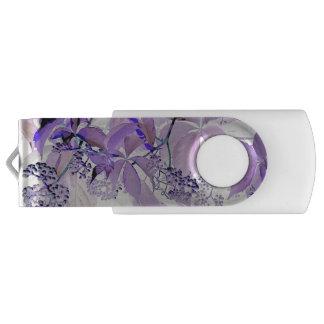 敏感な紫色のつる植物 USBフラッシュドライブ