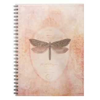 敏感な美しいのノート ノートブック