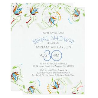 敏感な花の水彩画のイラストレーションの結婚 カード