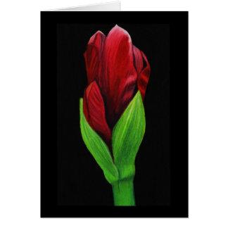 敏感な花カード カード