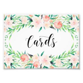 敏感な花束のカード印刷機構 フォトプリント