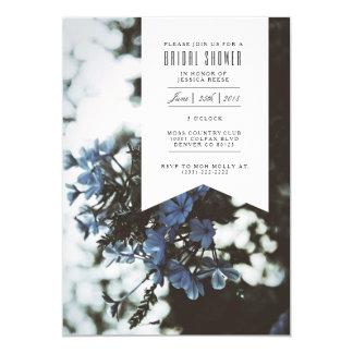 敏感な花|のブライダルシャワーの招待状 カード