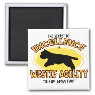 敏捷のWestieの秘密の磁石 マグネット