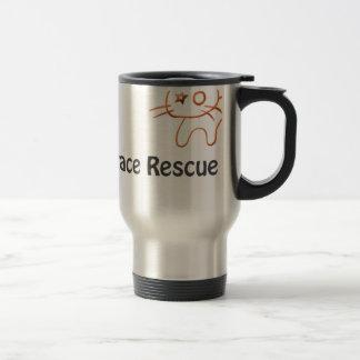 救いの救助のロゴ トラベルマグ