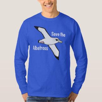 救って下さいアホウドリ(飛行)を Tシャツ