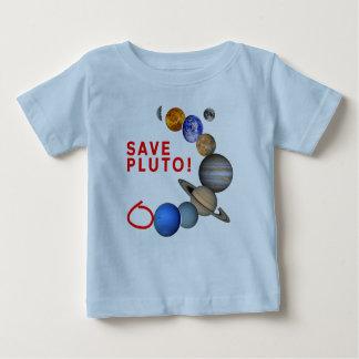 救って下さいプルート(太陽系)を ベビーTシャツ