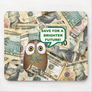 救って下さい!  ドル札の   マウスパッド
