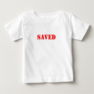 救われる ベビーTシャツ