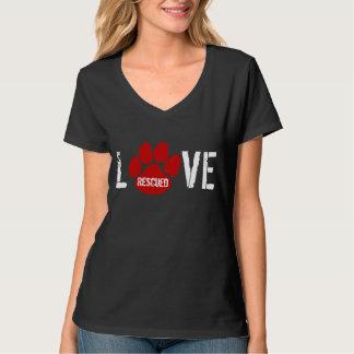 救助される-愛 Tシャツ