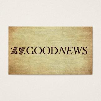 救助のよいニュースの福音地域の計画 名刺