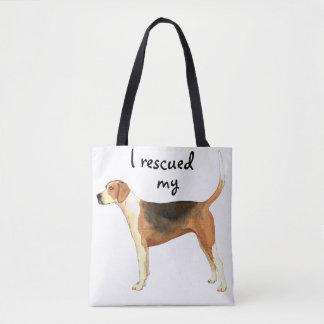 救助のアメリカFoxhound トートバッグ