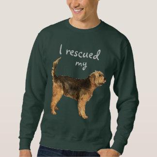 救助のカワウソ猟犬 スウェットシャツ