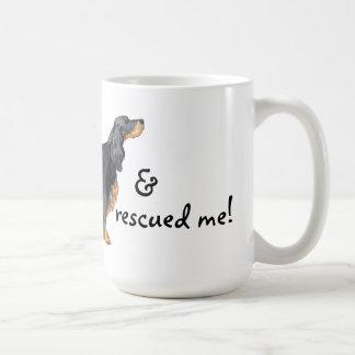 救助のゴードンセッター コーヒーマグカップ