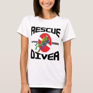 救助のダイバーのTシャツ Tシャツ