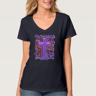 救助の十字 Tシャツ