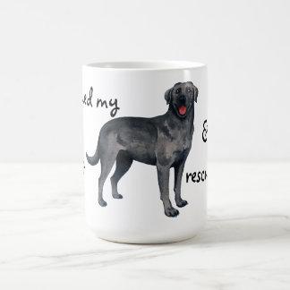救助の黒い実験室 コーヒーマグカップ